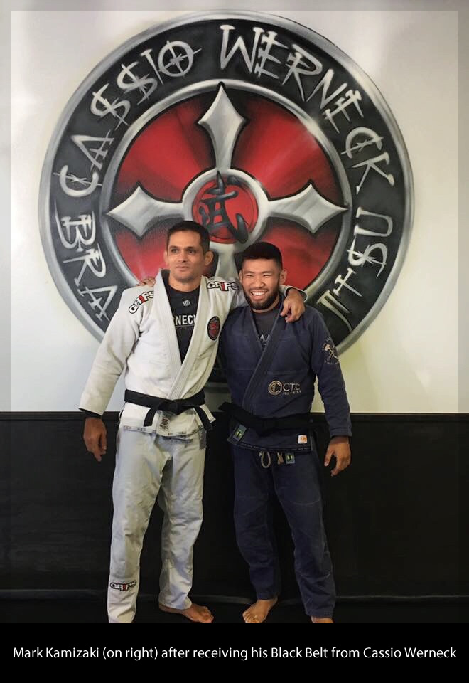 Mark Kamizaki BJJ Black Belt