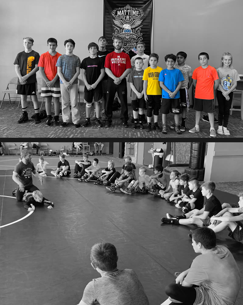 Wrestling for 11-14 year olds
